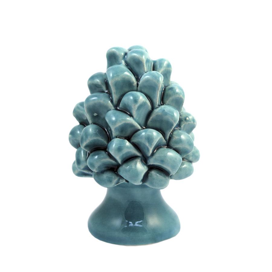 Pigna h 8 cm Verde Acquamarina
