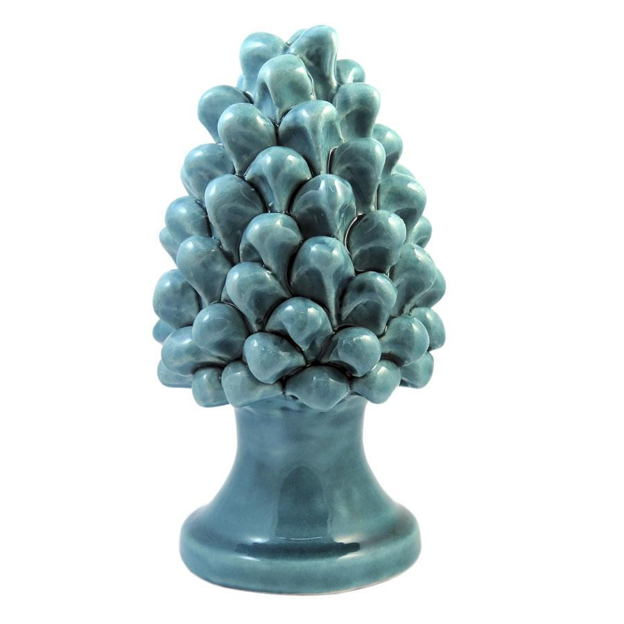 Pigna h 15 cm Verde Acquamarina